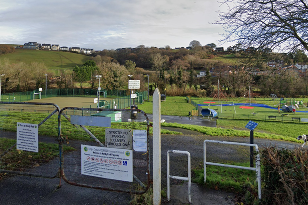 Teens are offering laced cannabis to younger children in a park making them ill, claim parents