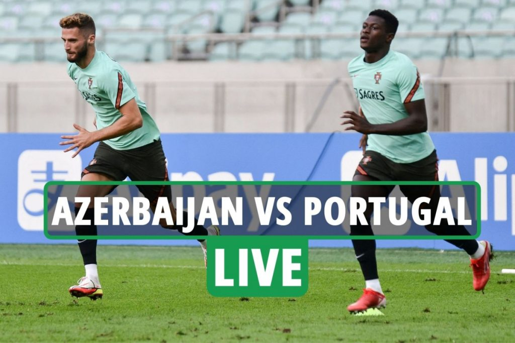 Azerbaijan vs Portugal LIVE: Stream, score, TV channel with Ronaldo OUT of clash – World Cup qualifier latest updates