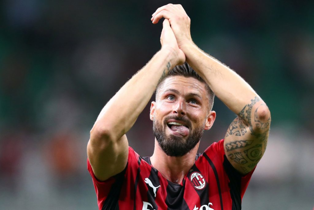 Olivier Giroud hit back at Karim Benzema's 'go-kart' jibe, jokingly called out UFC star Conor McGregor and will now look to continue stunning form against Liverpool in Champions League