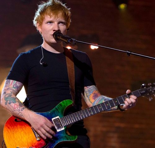 Ed Sheeran's 'Shivers' claims second week at Number 1