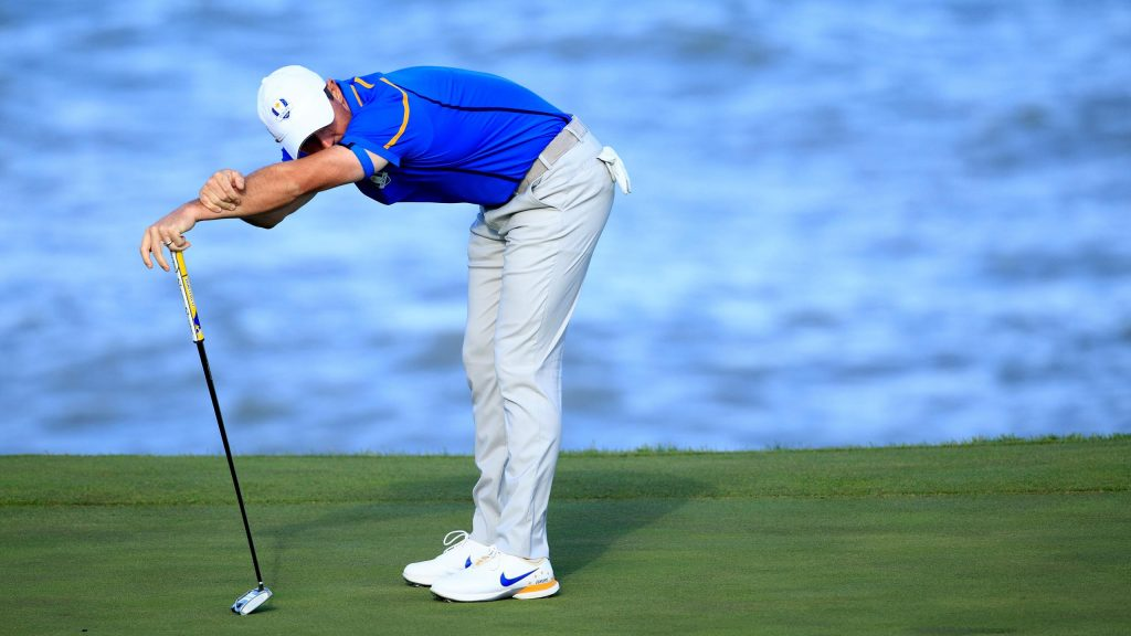 Harrington defends selection as he benches McIlroy for Saturday foursomes