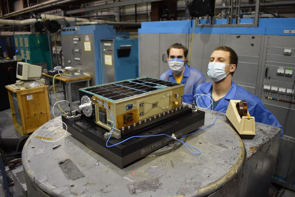 Secondary payloads launched with Landsat begin commissioning