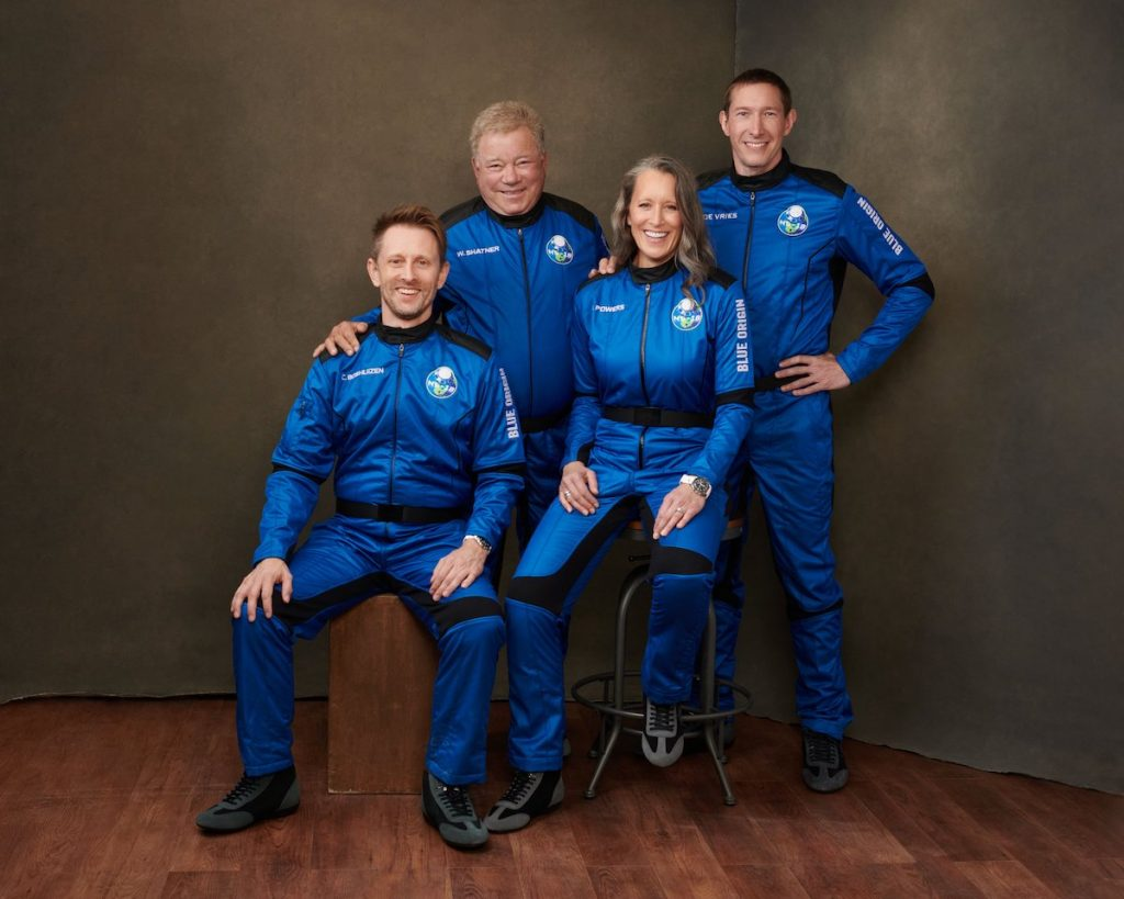 'Captain Kirk' heading to space on Blue Origin's second human launch