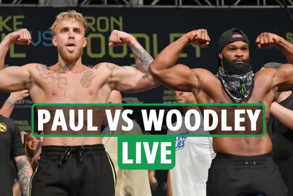 Jake Paul vs Tyron Woodley LIVE RESULTS: Stream, TV channel, UK start time for TONIGHT'S big clash – updates