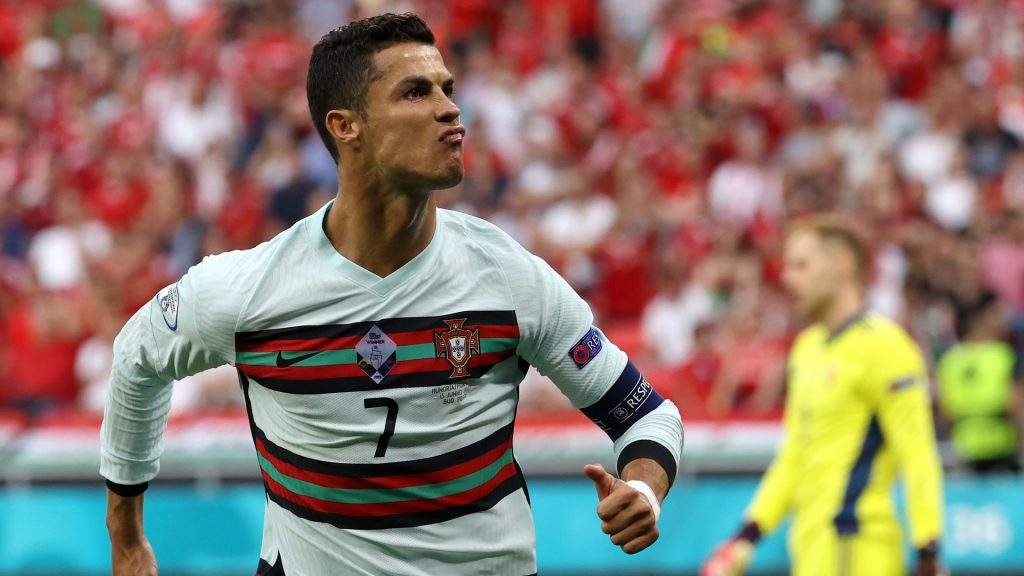 115 goals for Portugal