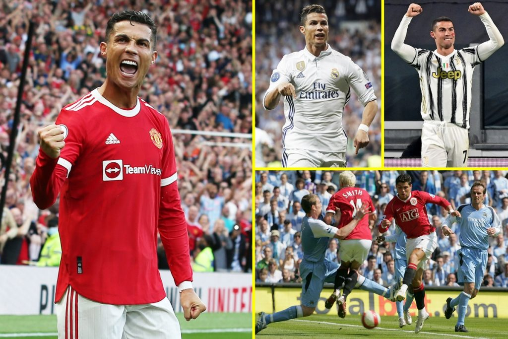 Cristiano Ronaldo could reach 800 career goals against Man City after Manchester United hitman extends astonishing international goal record and breaks hat-trick feat with Portugal