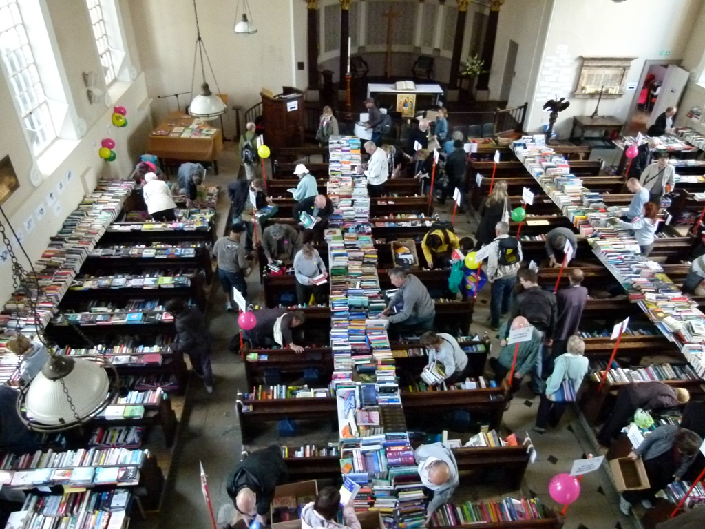 The Legendary Amnesty Book Sale Is Back