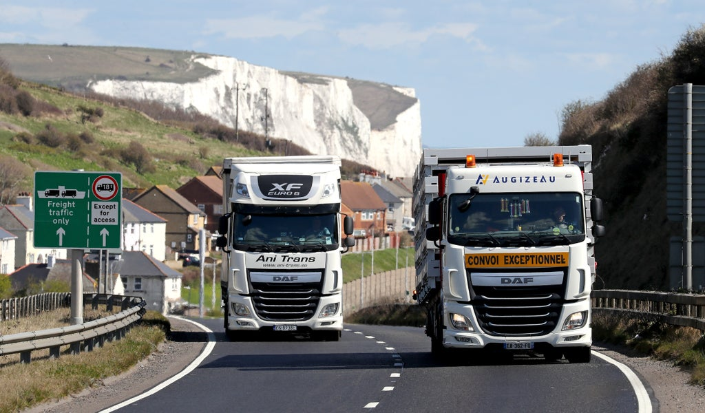 Boris Johnson can't bury his head in the sand over the lorry driver crisis