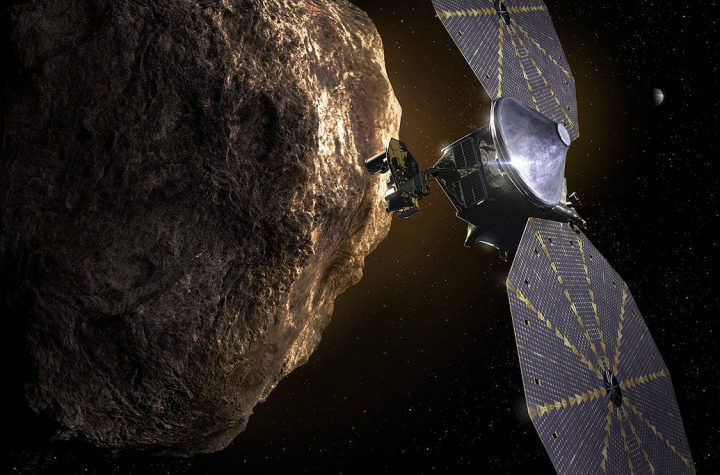 NASA's Lucy mission will be the first to explore a population of ancient asteroids