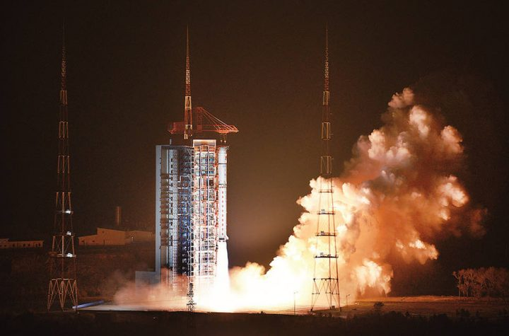 China launches orbiting solar observatory
