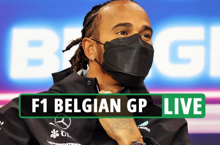 F1 Belgian Grand Prix LIVE RESULTS: Practice begins as season gets back on track – stream, TV channel, start times