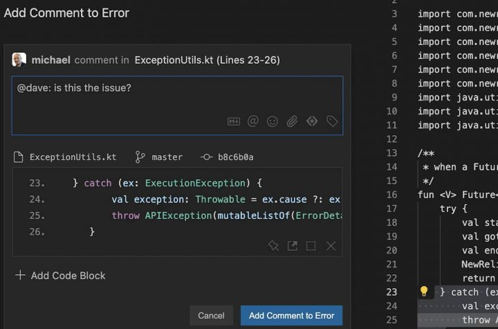 New Relic guzzles down CodeStream to help devs jump straight from app error telemetry to offending code