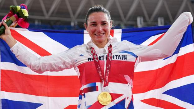 Tokyo Paralympics: Who are Great Britain's medal winners?