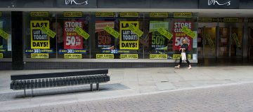 High street loses 83 per cent of department stores in five years