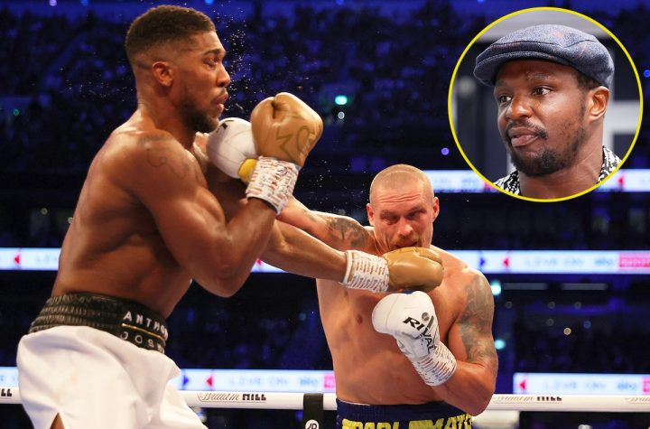'Anthony Joshua's problem is with himself, not his coaches' – Dillian Whyte gives his thoughts on AJ potentially changing trainer for Oleksandr Usyk rematch