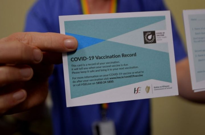 About 9% of younger people refusing Covid-19 vaccine, survey finds